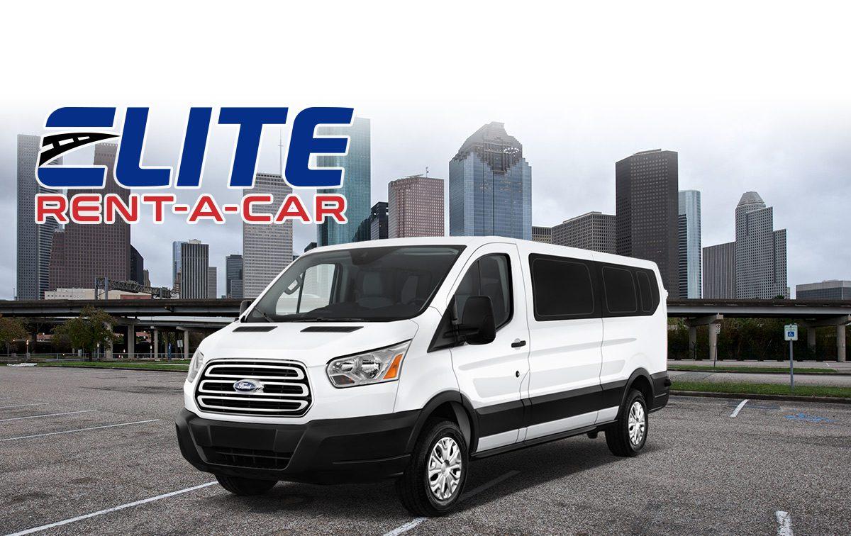 fifteen-passenger van